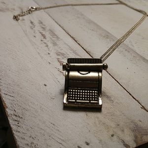 Modcloth Typewriter Long Necklace